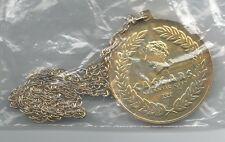 CAESARS ATLANTIC CITY Medal with Chain. 50 mm. (M.5b)