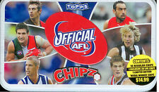 2010 Topps AFL Chipz Tin-Brownlow Ablett