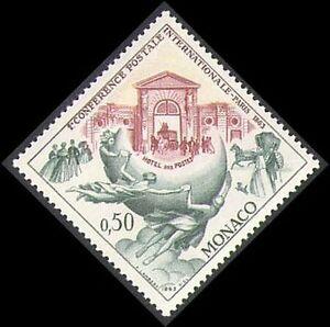 Monaco 1963 UPU/Horses/Mail Coach/Transport/Statue/Animals/Postal 1v (n38052)