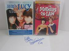 DVD New Lucille HERE'S LUCY Signed Lucie + MOTHERS In LAW Eve Arden Holiday GIFT