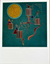 Wassily Kandinsky Poster An Intimate Celebration 14x11 Offset Lithograph