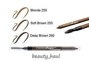 MAYBELLINE Master Shape Brow Pencil Precise Eyebrow BLOND / SOFT / DEEP BROWN
