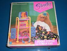 Vintage Sindy 1991 Bean Bag And Sound System Mib Mint Box Very Rare