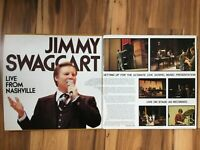 Jimmy Swaggart: LIVE FROM NASHVILLE 1977 gatefold 2 vinyl LPs NM/M+bonus CD