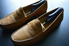COLE HAAN BROWN LEATHER SLIP PENNY LOAFER DRESS CASUAL SHOES SIZE: 11.5 US