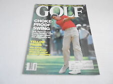NOV 1988 GOLF --- vintage sports magazine --- CURTiS STRANGE