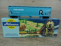 Athearn 2019 HO Scale 3 Bay Covered Hopper Rock Island # 800392 Wagon Boxed