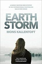 Earth Storm: The new novel from the Swedish crime-writing phenomenon... New Book