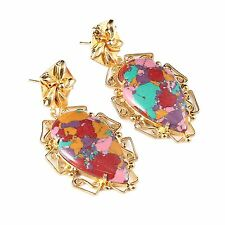 Fashion Women Jewelry Elegant Women Lady Hook Earrings Rhinestone Ear Earrings .