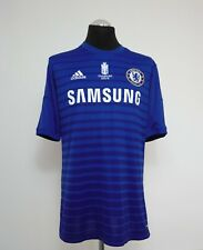 Chelsea Home Shirt Adult Large HAZARD #10 2014/2015 Champions Embroidery