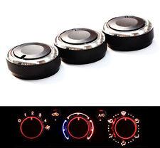 AC Car Heat Control Button Knob Aluminum Panel Switch for Toyota Tacoma 2014
