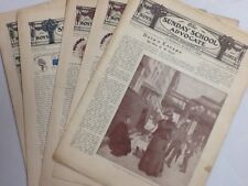 The Sunday School Advocate, 9 issues from 1903, 1 from 1904