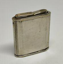 Vintage AP Pocket Lighter  ancien Briquet a Essence semi automatic
