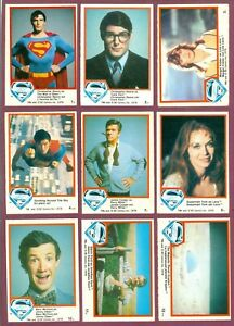 1978 OPC O PEE CHEE DC COMICS SUPERMAN TRADING CARD 1-132 + STICKERS SEE LIST