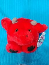 Swibco Puffkins Bruno Bull Stuffed Plush 1998