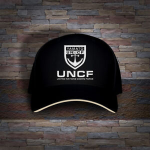 Star Blazers Space Battleship Yamato UNCF Cosmo Navy Embro Cap Hat