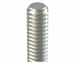 18-8 Stainless Steel Fully Threaded Stud 3 Length 5//16-18 Thread Size Right Hand Threads Pack of 10