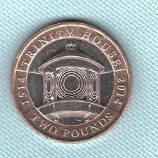 Go Elizabeth II. 2 £ Pounds 2014 Trinity House 500th Anniversary. Coin Hunt