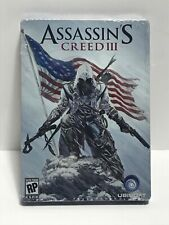 New Assassins Creed 3 III Limited Edition Steel Book Case - Xbox 360