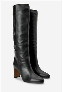 Ladies River Islands Forever Comfort Knee High Boots Black UK 5 RRP £65