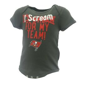 Tampa Bay Buccaneers NFL Official Apparel Infant Baby Creeper Bodysuit New Tags