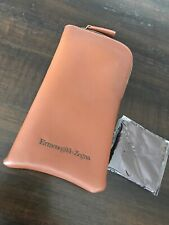 ermenegildo zegna sunglasses Leather Case New