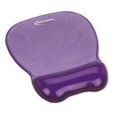 Innovera Gel Mouse Pad w/Wrist Rest Nonskid Base 8-1/4 x 9-5/8 Purple 51440