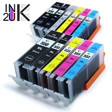 PGI550 CLI551 Ink Cartridges for Canon MX925 IX6850 MG5450 MG5650 MG6650 MG7550