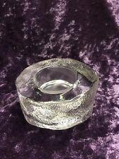 Partylite- Thick Glass Round Tealight Holder