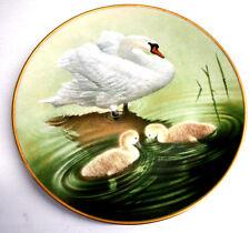 Waterbird Plates Summer Collection Limited Danbury Mint Mute Swan Bird Plate