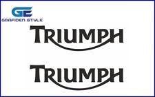 2 stück - TRIUMPH - Motorrad Aufkleber - Moto Sticker - Decal - B 20cm x H 5,5cm