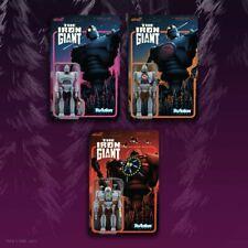 "The Iron Giant - Iron Giant Set of 3 pcs 3 3/3"" ReAction Figures by Super 7"