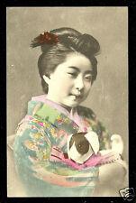 Geisha Toy Dog Puppet Doll Costume Japan ca 1910