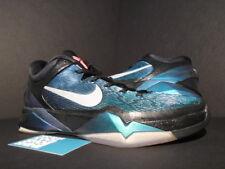 Nike Zoom KOBE VII 7 INVISIBILITY CLOAK BLACK PURPLE TURQUOISE BLUE GREEN NEW 11