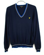 Lyle & Scott Hommes Tricot Vintage Pull-Over Pull Cardigan Taille 2XL FZ669