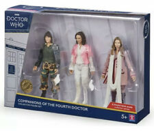 DR WHO COMPANIONS OF THE FOURTH DOCTOR COLLECTOR FIGURE SET LTD EDT UK EXCLUSIVE