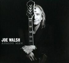 Analog Man by Joe Walsh (CD+DVD 2012 Fantasy FAN-33846-00, Limited Edition, OOP)