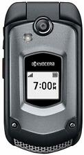 Kyocera DuraXTP E4281 - Black (Sprint) PTT 3G Rugged GPS Camera Flip Cell Phone