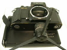 Canon f1 f-1 N New Pro Back By chercheurs NPC prüfert collection/14