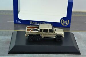 Best of Show BOS 87275 Mercedes AMG G 63 6X6 Pick Up Truck 1:87 Scale HO
