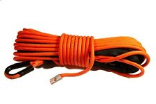 "Synthetic Winch Rope Line Cable 5/16"" x 50'  20.000 LB Capacity ATV UTV ORANGE"