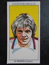The Sun Soccercards 1978-79 - Ray (Butch) Wilkins - England #195