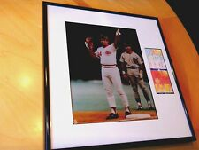 "Pete Rose #4192 (13""X14"") Framed 8x10 Baseball Photo with two #4192 Ticket Stubs"
