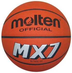 Authentic Molten MX7 Premium Indoor Basketball NFHS Approved Size 7 29.5 B7MX-W