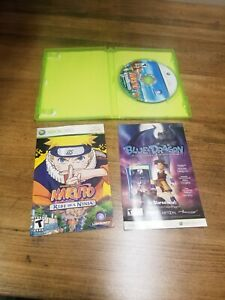 Naruto: Rise of a Ninja (Microsoft Xbox 360, 2007) rare game in great condition