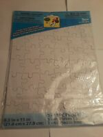 Darice Create Your Own Puzzle 48 Piece Puzzle New Wrapped
