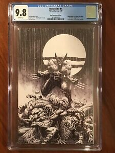 Wolverine #1 CGC 9.8 Kael Ngu Convention Edition Virgin Sketch Variant Cover