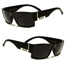 Men Dark Lens Gangster Black Og Sunglasses Locs Biker Glasses Usa N