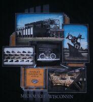 Men's Harley-Davidson Motorcycles Museum Milwaukee WI T-Shirt Sz XXL EUC