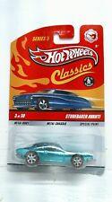 2007 Hot Wheels Classics Series 5 Studebaker Avanti Chase (Real Riders) Green